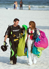 Skydiving Apr 2013, Jeff & Carolyne all smiles at the beach (divemasterking2000) Tags: sky skydiving coast la flying al jump jumping gulf alabama dive diving center skydive lower canopy dropzone emerald parachuting parachute dz canopies skyjump gulfcoast elberta parachutes skyflying skyfly emeraldcoast loweralabama 2013 skyjumping emeraldcoastskydivingcenter
