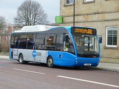 South Lancs 62 130320 Bolton (maljoe) Tags: versa slt optare greentriangle optareversa strawberrybuses southlancashiretravel