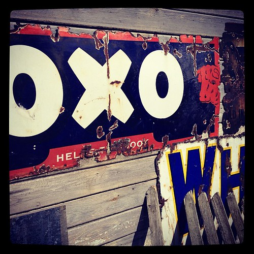 Oxo sign at Beamish! #beamish #sign #oxo #old