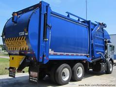 City of Tampa - Mack MRU613 / E-Z Pack Hercules FEL - 1330 (FormerWMDriver) Tags: new trash truck garbage front collection rubbish end fl waste refuse loader load mack hercules sanitation fel frontloader solidwaste 1330 frontload mru cityoftampa terrapro ezpack mru613