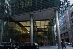 Moorgate Walkaround (JimRJudd) Tags: street building london office taxi recpetion ropemaker