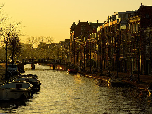 Sunset in Leiden