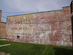 Dr Swetts and Coca Cola ghost sign - Grinnell Iowa (happily Evan after) Tags: building beer sign mural paint image cola dr painted ad coke iowa pop advertisement soda cocacola root coca grinell swetts