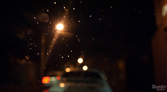Night & Rain (Ricardowsky_) Tags: chile rain night lights luces noche lluvia nikon gotas ricardo autos nikkor talca maule nikond3000