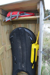 Rescue equiptment, life saving stations, dangerous currents (michiganseagrant) Tags: waves shoreline ripcurrents dangerouscurrents beachsafety michiganseagrant