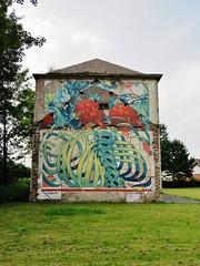 Aryz / Denderlaan - 22 jul 2016 (Ferdinand 'Ferre' Feys) Tags: gent ghent gand belgium belgique belgi streetart artdelarue graffitiart graffiti graff urbanart urbanarte arteurbano aryz
