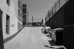 alley up (dustin.gebhard) Tags: beverly blvd hotel hourlyrate alley parking deadbeatgallery street photography ricohgr