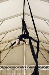 Anna Vinogradova (Jul Chitay) Tags: aerial aerialist sport dance flexibility aerialarts arts high aerials woman girl