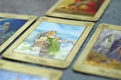 Tarot cards reading (adelina_tr) Tags: cards play tarot macromondays nikond5300