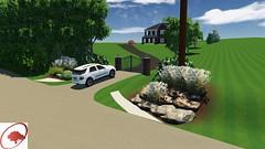 Blair design (The Sharper Cut Landscapes) Tags: landscapedesign landscaping landscapelighting plantings plantingdesign patio pavers outdoorkitchen waterfeature pergola entryway entry gate