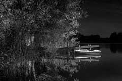 Safe Haven (Colin.G.Coleman) Tags: rowingboat reflections