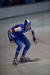A37W6963 (rieshug 1) Tags: speedskating schaatsen eisschnelllauf skating nkjunioren knsb nkjuniorenallroundafstanden afstanden allround 50010001500massstart demeent alkmaar sportcomplexdemeent juniorenc ladies dames 500m