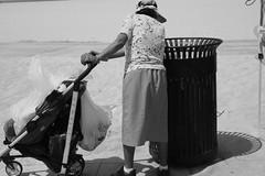 Venice beach day. June 2016  #deadbeatgallery #fujifilm #xe1 #venicebeach (dustin.gebhard) Tags: deadbeatgallery fujifilm xe1 venicebeach recycle bottles cans street photography stroller stayabovewater grateful selfpity