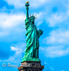 Liberty!! it is.jpg (NP Photo2010) Tags: 1801050mmf3556 freedom usa nikon heritagesite gift people newjersey 2016 liberty summer historical statue sky sunny landmark france places d90 newyork unitedstates us