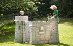 238/366 (grilljam) Tags: summer august2016 pejepscotdayschool ewan 7yrs 366days castleplay seamus 4yrs