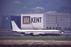 "Boeing, 707-351C, Z-WST, ""Seagreen Air Transport"", VHHH, Kai Tak, Hong Kong (Daryl Chapman Photography) Tags: zwst boeing 707 kaitak cargo freighter ahk ld airhongkong n21az vrhhb cx cpa cathaypacific n357us northwest ugandaairlines 5xuac seagreenairtransport zsiji 369 18747 lan airlines 707351c"