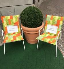 Your seat to relax  (stefan aigner) Tags: austria europa europe oesterreich osterreich schild schwaz sign tirol tyrol