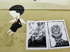 Fred le Chevalier / Paris - 29 jul 2016 (Ferdinand 'Ferre' Feys) Tags: paris france streetart artdelarue graffitiart graffiti graff urbanart urbanarte arteurbano fredlechevalier pasteup wheatpaste
