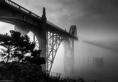 16-10626-HDRp.jpg (kgsix) Tags: usa yaquinariver oregon yaquinabaybridge lincolncounty newport yaquinabay photomatix5 fog unitedstates us