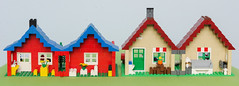 Updated build of 1978 set using pieces from a 2015 set (msmith890) Tags: lego legotown legolandtown legomoc classiclego moc creator