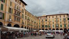 Town square (axelina2000) Tags: plaa major plaza r mayor palma de mallorca
