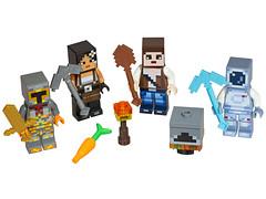 LEGO Minecraft 853610 - Skin Pack (THE BRICK TIME Team) Tags: lego brick minecraft minifigures