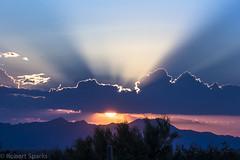 Sunset 8-24-16 (hale_bopp37) Tags: sunset crepuscular rays