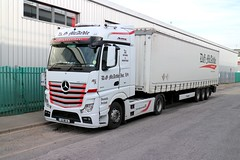 Mercedes Actros (Bristol MW Driver) Tags: mercedes actros portchester mcardle