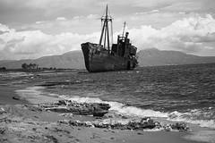 IMG_6683 (christinehag) Tags: shipwreck naufrage landscape ruins blackandwhite monochrome outdoor sea mer