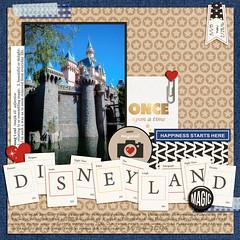 Disneyland Cover (girl231t) Tags: 04year 0scrapbooking 2015 zzmyscrapbookpages 0photos scrapbook layout 12x12layout digi disney disneyland projectmouse