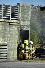 Tweed Heads 468 Training (coghilla) Tags: ool airport arff training goldcoast frnsw tweed heads 468 smokehouse ba fire urban inaction rescue