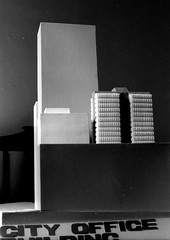 Queen St office , Architecture school design project B+W sheet 015 12 (Graeme Butler) Tags: school melbourneuniversity history heritage government design culture architecture melbourne victoria australia