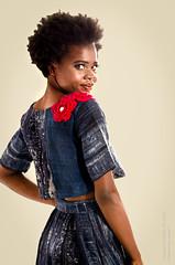 Seductive (Tex Texin) Tags: fashion runway vigilant sutherlin model girl female overshoulder lookingback seductive smile
