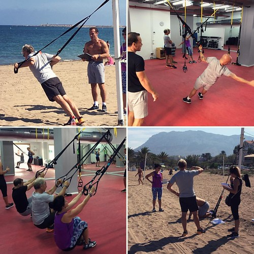 Suspended Movement Instructor Training day. Experience in and out of the gym #EPTI #personaltrainingcertificate #becomeapt #personaltrainertraining