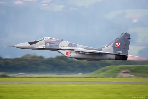 Mig-29 Polish Airforce Low Level