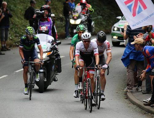 Breakaway - Tour of Britain 2016, Bristol