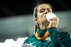Rio2016 - Atletismo 100m T38 (Comit Paralmpico Brasileiro) Tags: rio2016 cpb hipolito 090916 paralimpiada atletismo prata 100 t38i veronica