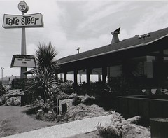 The Rare Steer Restaurant - San Leandro, CA - circa 1968 (hmdavid) Tags: raresteer restaurant sanleandro california 1960s plastic sign steak cocktails 1968