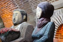 wood art (fragile_dreams) Tags: wood art canon 600d 50mm eskisehir eskiehir odunpazar sculpture travell colours man woman dolls