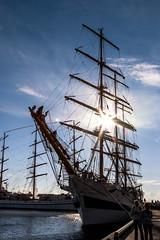 """MIR"" (DVchigarev) Tags: black sea regatta ship sailing mir peace world sochi russia 2016 canon 24105 l changing sky clouds lightroom vsco wide widescreen saintpetersburg"