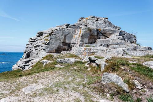 Le Roc'h sur l'Île de Batz