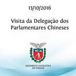 Visita da Delega��o dos Parlamentares Chineses 13/10/2016