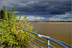 Mersey Gateway Bridge Pylons (River Mersey) 28th September 2016. (Cassini2008) Tags: merseygatewayproject merseylink widnes rivermersey spikeisland