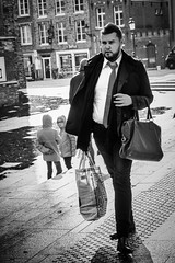 Shopping destination.. (John Bastoen) Tags: straatfotografie street streetphotography shopping