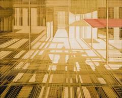 σκιές στην αγορά (2016) - λάδι (56Χ70)