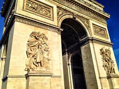 Paris - Arc de Triomphe (bronxbob) Tags: paris france monuments memorials arches memorialarches archoftriumph arcdetriomphe napoleonbonaparte