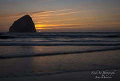 Pacific City - Oregon Coast (Freshairphotography) Tags: pacificcity oregoncoast oregon sunset afterglow beach waves serene peaceful tourism coast colorful haystackrock monolith rockformation rockstacks rocksandwater explore explored