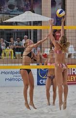 Beach Masters Montpellier 2016 (JPPIX92) Tags: girl 2016 france d500 beautiful gorgeous amazing female women nikond500 portrait swimsuit hair beachvolleyball beachvolley volleyball languedoc bikini blond blondhair montpellier beach volley
