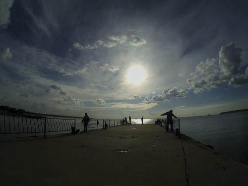 Рыбалка.Чёрное море.Керчь.Fishing. Black Sea . Kerch.
