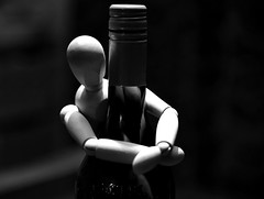 Let's dance.. (Pics4life.nl off and on next week) Tags: bottle wine nikon